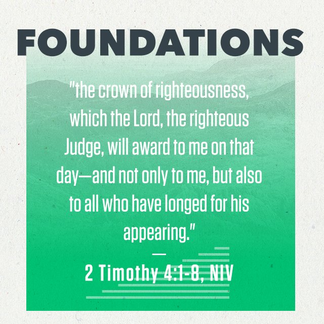 Foundations - Part 6: Judgement