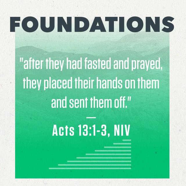 Foundations - Part 4: Laying on Hands