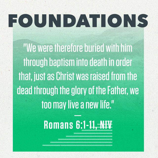 Foundations - Part 3: Baptism