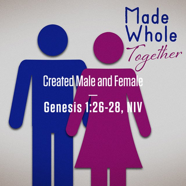 Made Whole Together: God's Good Gifts of Sex and Gender: Part 1