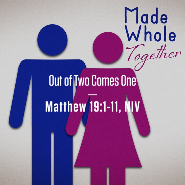 Made Whole Together: God's Good Gifts of Sex and Gender: Part 5