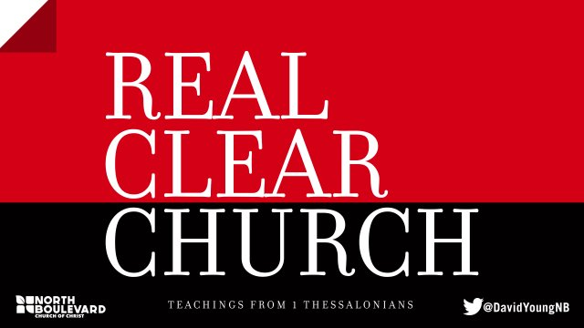 Real Clear Church